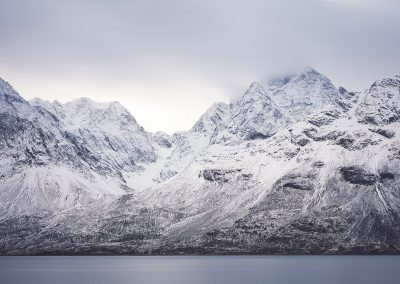 Lyngen Alps, Norwegen